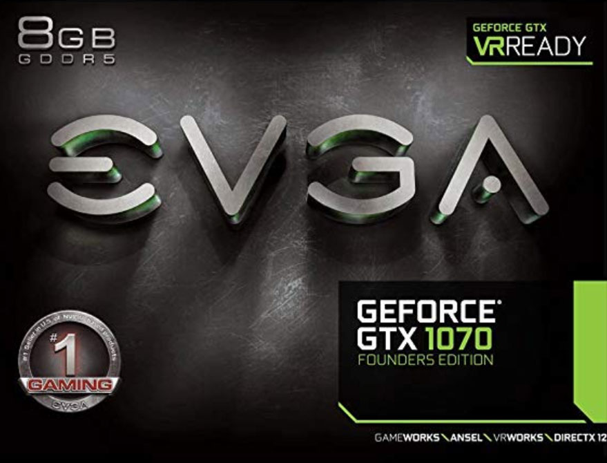 EVGA GeForce GTX 1070 Founders Edition - Best Graphics Card Under 500$