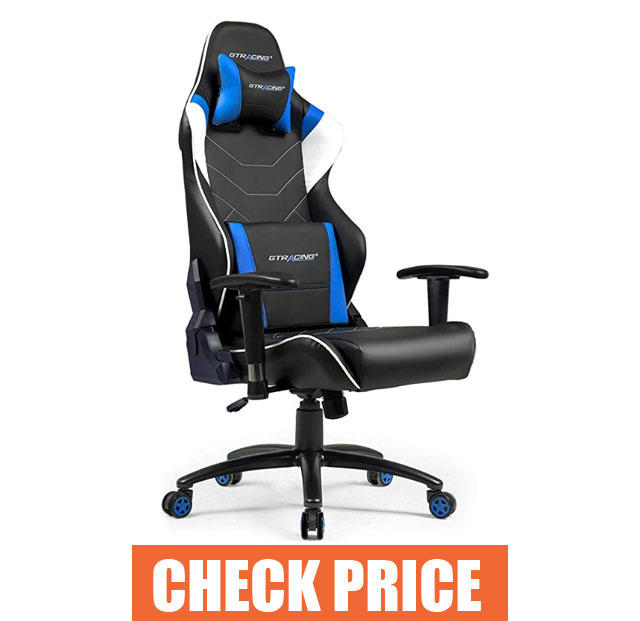 GT RACING Music Gaming Chair - Best Music Gaming Chair