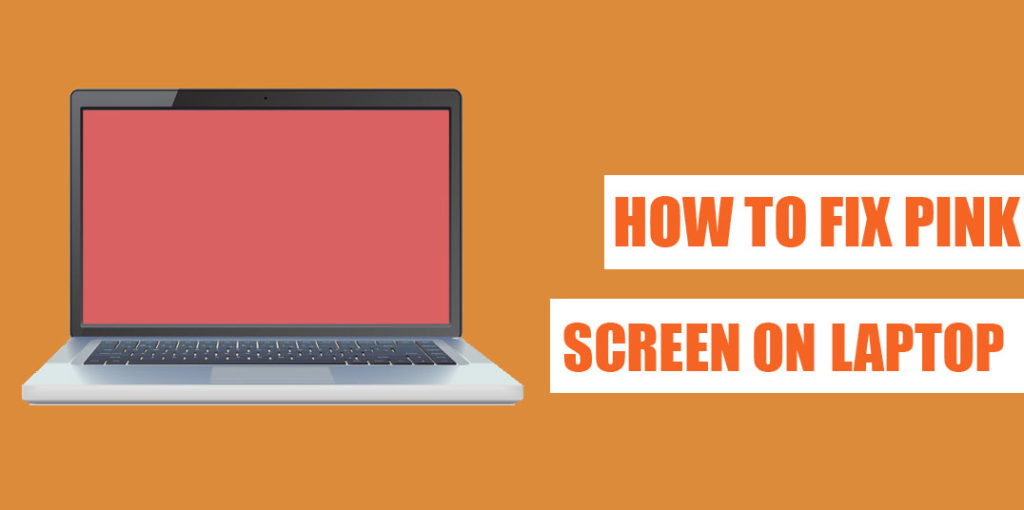 How to fix pink screen on a laptop or Computer - Problem Solved