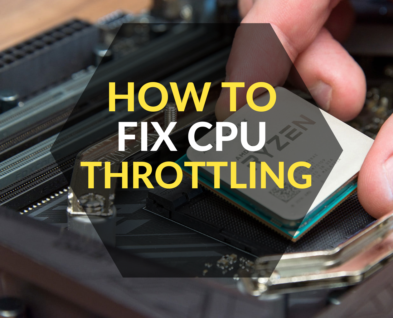 how to fix cpu throttling