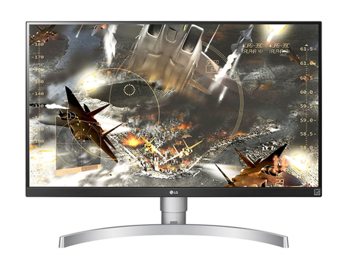 LG 27UK650-W 27 Inches 4K monitor